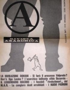 A rivista anarchica n10 febbraio 1972