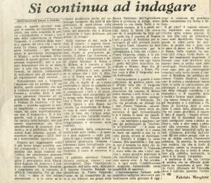 1969 12 18 Messaggero - Roma di Fabrizio Menghini