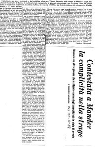 1969 12 22 Messaggero - Contestata a Mander la complicità nella strage Fabrizio Menghini