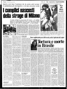 1970 04 12 Unità I complici nascosti della strage di Milano
